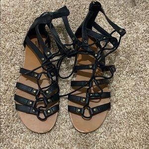 ⚡️Target Black lace up sandals